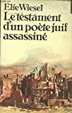 Le Testament d'un poète juif assassiné - Editions du Seuil - 01/05/1981