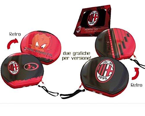Preisvergleich Produktbild Tür CD aus Zinn mit Scharnier Milan Fans Fußball * 03259