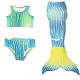 Das beste Multicolour Mädchen Meerjungfrauen Bademode Badeanzüge Bathing Suit Tauchanzug Bikini Kostüm Tankini Schwimmanzug Weste Badeanzug Shorts