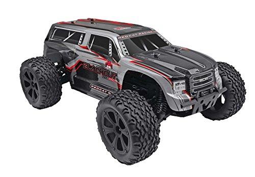 Redcat Blackout XTE PRO Grau Brushless 1:10 RC Modellauto Elektro Geländewagen Allradantrieb (4WD) RTR 2,4 GHz