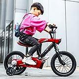 LXYFMS Vélo for Enfants avec Voiture À Chaîne, Vélo De 12 Pouces Vélo pour...