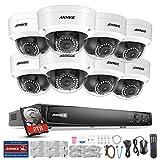 ANNKE 16CH PoE Überwachungskamera Set, 16 Kanal 6MP CCTV Videoüberwachung System mit 8 x 1080P IP Überwachungsskameras mit 2TB Überwachung Festplatte für Haus Innen Außen Bereich, Poe Plug und Play