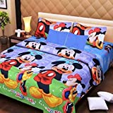 PRIDHI 180TC Double Bedsheet with 2 Pillow Cover Rajasthani Design8
