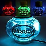 Poppy Lufterfrischer Ocean mit 7 Farben LED Multicolor-Beleuchtung 12V 24V für LKW KFZ Auto Wohnwagen Inhalt 150 ml