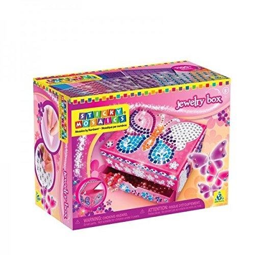 Preisvergleich Produktbild Orb Factory 620103 - Sticky Mosaics Jewellery Box