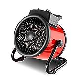 Stufe elettriche LHA Riscaldatore Industriale del Fan di 3KW con Il termostato Regolabile per la Flotta della tettoia della Serra dell'officina del Garage