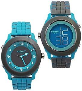 Colore Dual Dial Reversable Ana-Digi Unisex Watch - YS-65