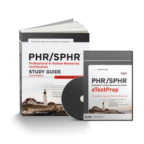 PHR / SPHR Professional in Human Resources Total Test Prep por Sandra M. Reed