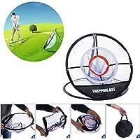 GFEU Golf Chipping Net Tragbar Training Trainingsnetz Perfekt für in/Outdoor Garden Praxis Training Aid