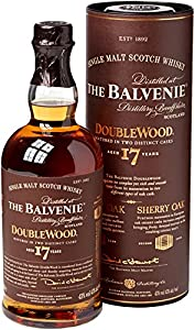 The Balvenie 17 Year Old Doublewood Single Malt Whisky 70 cl