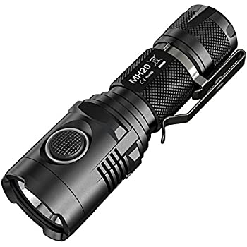 Nitecore MH20 - USB Rechargeable Flashlight (1000 Lumens) | Utlizes 1pc 18650 Nitecore Battery(not included, have to buy separately)