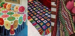 Patrones ganchillo afganos brillantes y hermosos de [Unknown]