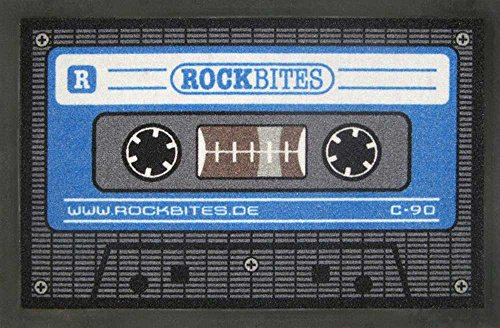 empireposter - Fußmatte - Tape – Blau - Größe (cm), ca. 60x40 - Türmatten, NEU - Beschreibung:...