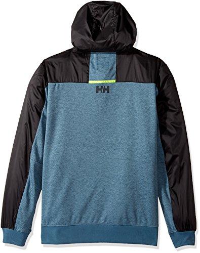 Helly Hansen–Giacca con cappuccio Raido Blue Mirage
