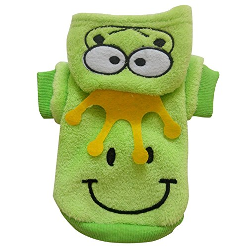 """Kermit the Frog' -Dog Hoodie Jacket/Costume -S"