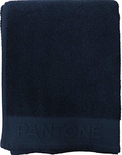 Telo bagno spugna Pantone cm.100x170 Bassetti cotone 100% BLU