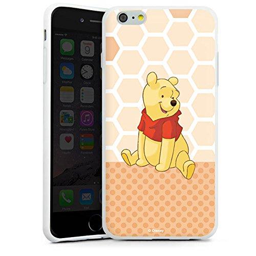 Apple iPhone X Silikon Hülle Case Schutzhülle Disney Winnie Puuh Merchandise Zubehör Silikon Case weiß