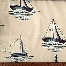 Tela por metros de loneta estampada digital - Panamá 100% algodón - Ancho 280 cm