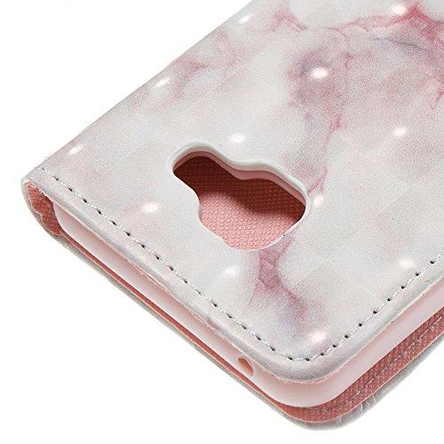Marmor Stein Grain Texure Pattern PU Ledertasche Cover, Retro Bookstyle Flip Stand Case mit Magnetverschluss & Card Slots & Lanyard für Samsung Galaxy A310 (A3 2016) ( Color : F ) E
