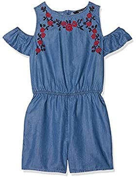 New Look Tencel Embroidered Psuit, Vestito Bambina
