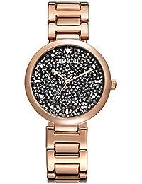 Relic Womens Gold Edelstahl Wasserdicht Armband- & Taschenuhren Uhren & Schmuck