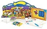 """Sabbiarelli® Sand-it For Fun Kit """"Nativity"""" Colora con la Sabbia e costruisci il tuo Presepe - lavoretti di Natale, giochi creativi per bambini"""