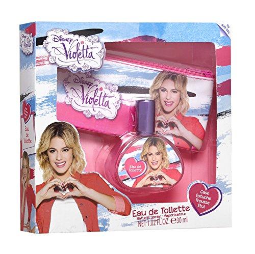 Air Val Disney Violetta Geschenk-Set, 1er Pack (Eau de Toilette 30ml, Kosmetiktasche) (Parfum Geschenk-set)