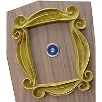 LaRetrotienda - marco decoracion mirilla puerta con acabado VINTAGE 26 x 21 cm