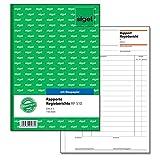Sigel RP510 Rapport/Regiebericht A5, 100 Blatt