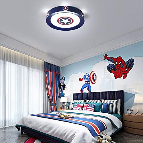 Sunny Lingt Childrens' Room Decken-Lampe, kreative Karikatur-LED-Deckenleuchte, stufenlose Dimmen Kinderzimmer Dekoration Kronleuchter mit Fernbedienung for Schlafzimmer Jungen-Mädchen-Raum Kindergärt -