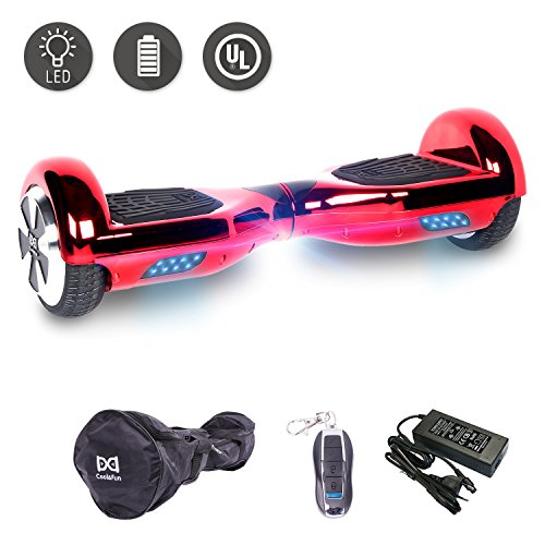 Cool&Fun 6,5 Pouces Hoverboard Self Balance Scooter Smart...