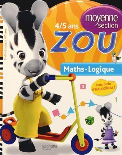 Je vais à l'école avec Zou - Maths-Logique - Moyenne section par Julie Pelloille