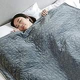 YXYH Gewichtete Decke Diamantmaske Angst Lindern Schlaf Fördern Ruhen Auf Dem Schlafsofa