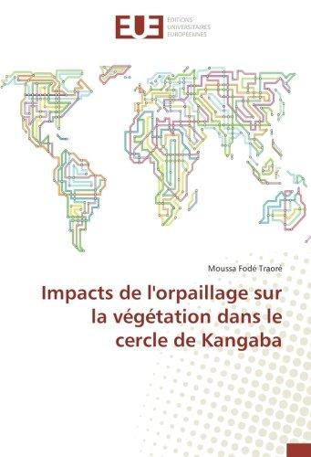 Impacts de l'orpaillage sur la végétation dans le cercle de Kangaba