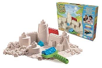 Goliath 83219 - Super-sand-set Castle, Modellierbarer Magischer Sand Bringt Burgen Ins Kinderzimmer, Handliche Sandkasten-box, Bunte Burg-förmchen, Ab 4 Jahren 8
