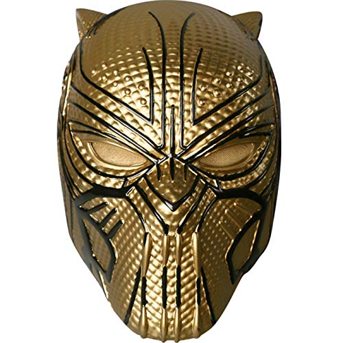 QQWE Black Panther Maske Helm Marvel Hero Bösewicht -
