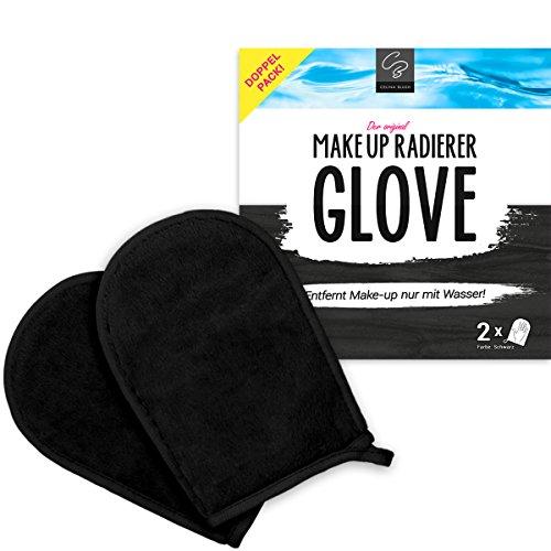 Double-Pack GLOVE démaquillante exclusive de Celina Blush | démaquille à l'eau | vous évite l'utilisation de produits chimiques | nettoie la peau en douceur et en profondeur | 2 Gants démaquillage