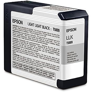 Epson Ink Cartridge 80ml - Light Light Black