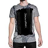 Idakoos Instruments Chromatic Accordion 3D - T-Shirt Hommes en Polyester L