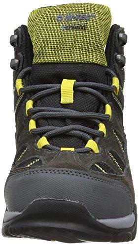 Hi-Tec - Altitude Lite I Wp Jr, scarponi  da unisex ragazzi Grigio (Charcoal/Black/Sunray 051)