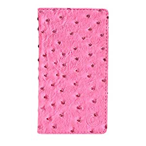Jo Jo Cover Croc Series Leather Pouch Flip Case For LG Optimus 3D Cube SU870 Exotic Pink
