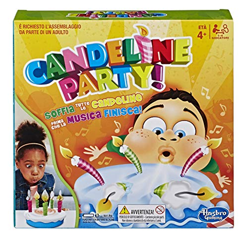 Hasbro Gaming - Candeline Party (Gioco in Scatola), E0887103