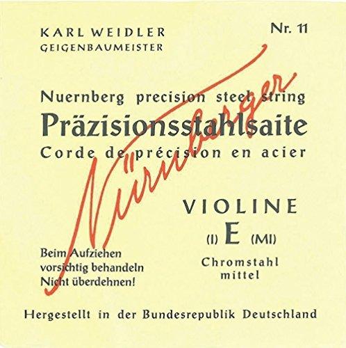 NUREMBERG CUERDAS PARA VIOLIN PRECISION UNIFILAR SET (11/74/75/76)