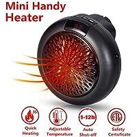 Mini Heater - Estufa Eléctrica Portátil de Bajo Consumo, 1000 W con Enchufe Eléctrico,