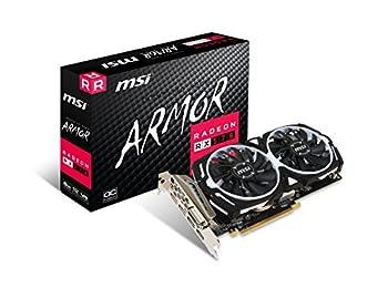 MSI Gaming Radeon RX 570 ARMOR 8GB GDDR5 256Bit AMD Radeon DX12 Ekran Kartı