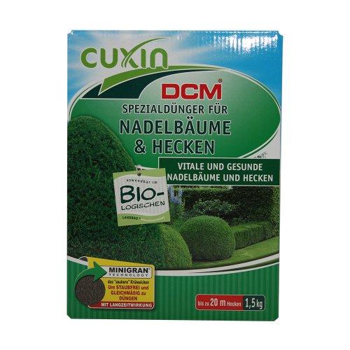 Cuxin Spezialdünger für Nadelbäume und Hecken, 1,5 kg