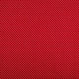 Feincord Tupfen/Punkte - Rot-Weiss - 145 cm breit