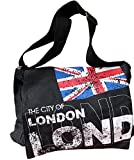Robin Ruth Tasche, Motiv London/Union Jack, schwarz - schwarz - Größe: M