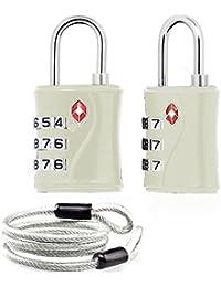 Aspen Cable de lazo de bloqueo de seguridad de bloqueo 100 cm