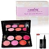 #7: Mars Professional Make Up Soft & Mild Blusher Free Laperla Kajal-01